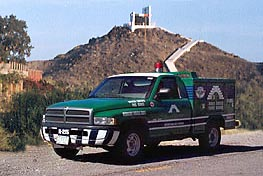 Green Angel Truck in San Felipe