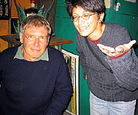 Harrison Ford with Priti Joshi